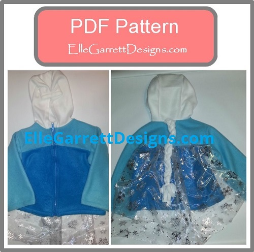 Snow Queen Jacket Pdf Pattern Elle Garrett Designs